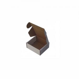 12X10X4,5Cm Kilitli Beyaz Kutu Karton Koli 30 Adet
