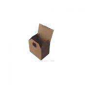 18X13X15,5Cm Kilitli Karton Kutu Koli 20 Adet
