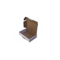 24X16,5X6Cm Kilitli Beyaz Karton Kutu Koli 20 Adet
